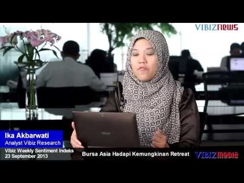Bursa Asia Hadapi Kemungkinan Retreat, Vibiznews 23 September 2013