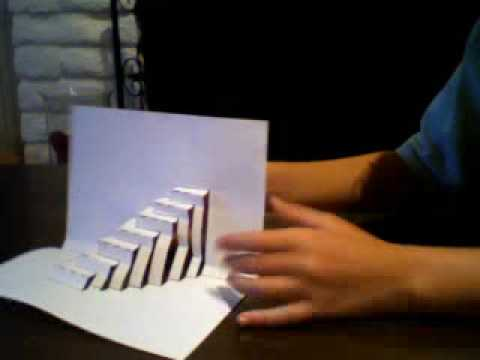 3 cool origami paper tricks youtube for Cool things to build with paper