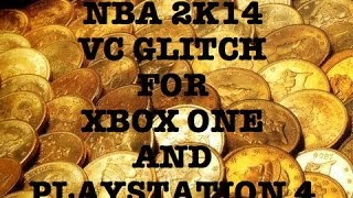 NBA 2K14 VC GLITCH For Xbox One & PS4 Fastest Way To