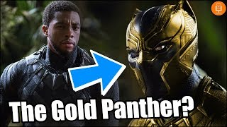 Erik Killmonger will put on a Gold Panther Suit in Black Panther