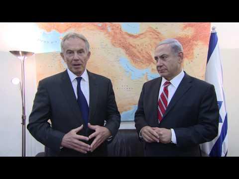 PM Netanyahu Meets with Tony Blair
