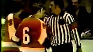Philadelphia Flyers At NY Rangers 1974 Play-offs Ron