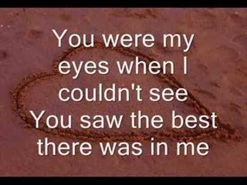 you loved me lyrics: