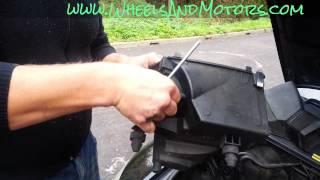 How To Change Mass Air Flow (MAF) Sensor On Audi A6 (C6 4F