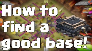 Clash Of Clans How To Find A Good Base TH9