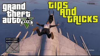 GTA V ONLINE: Take No Fall Damage, Stop Car Instantly