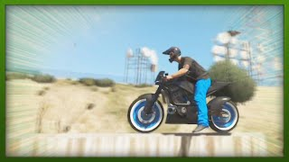 GTA 5 Stunts INSANE Bike Stunts! Top 5 Stunts (GTA V