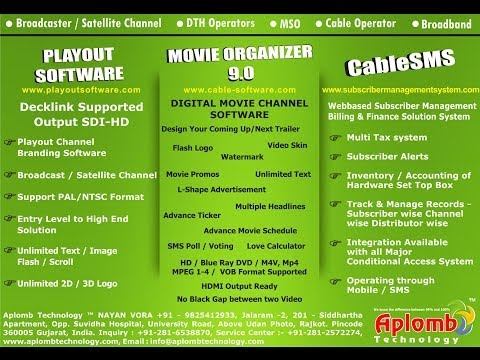 How to Set Decklink Card for Playout Software - HD Movie Channel software