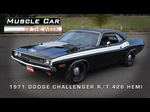 Muscle Car Of The Week Video #38: 1971 Dodge Challenger R/T 426 HEMI M