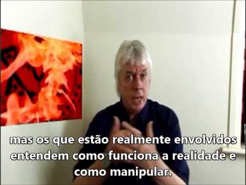 David Icke falando sobre o satanismo e sacrifícios humanos - BBC/Londres