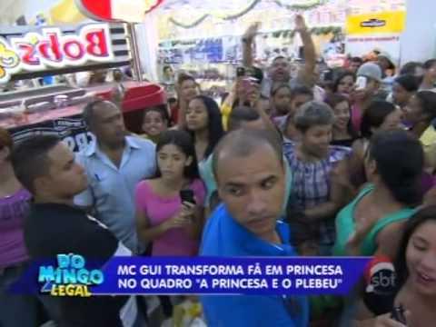 SBT Inscrições - Domingo Legal - Dia de Princesa com MC Gui
