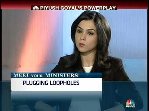 MEET YOUR MINISTERS: PIYUSH GOYAL INTERVIEW SEG 1