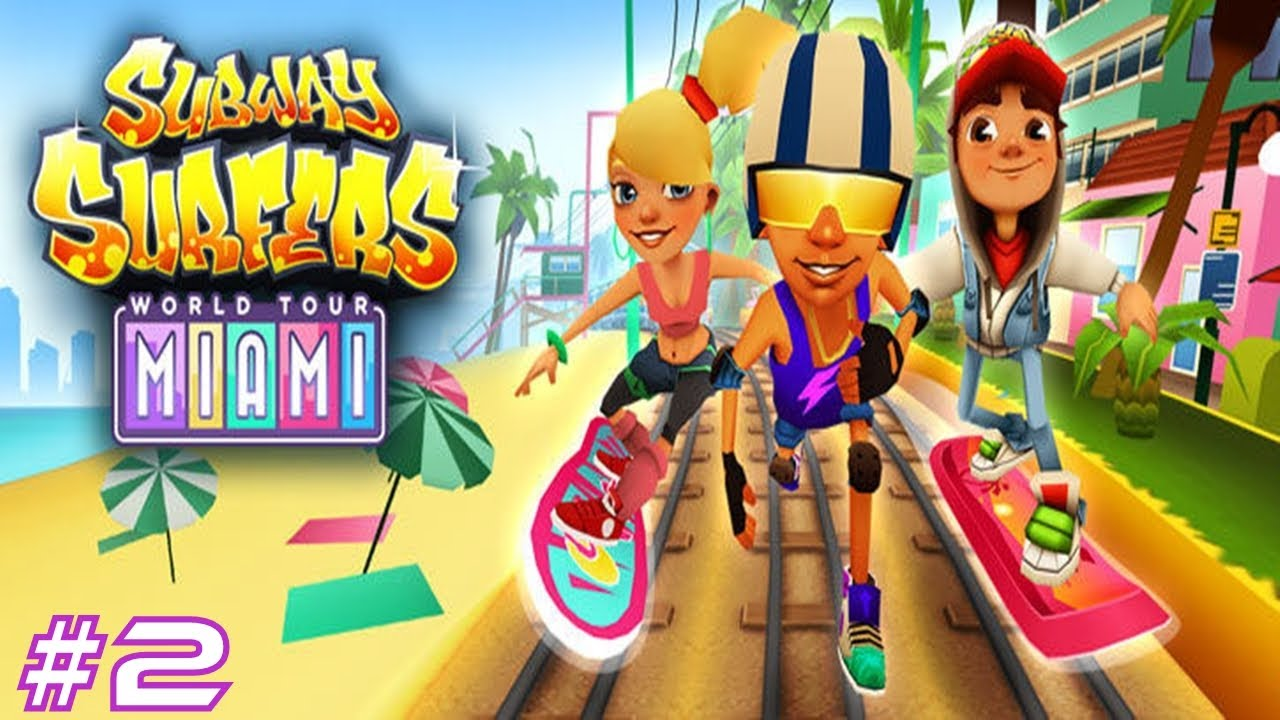 Subway Surfers Miami Samsung Galaxy S3 Gameplay 2 Youtube