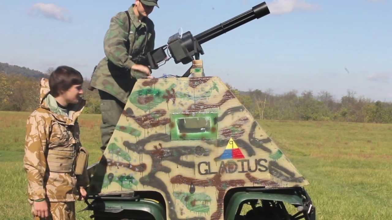 Displaying 18> ... Homemade Airsoft Tank