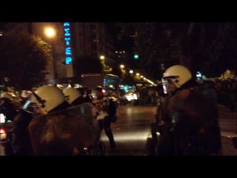 Thessaloniki International Trade Fair Protests 2013