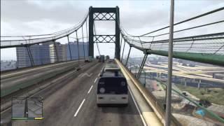 GTA 5 Driving A Bus