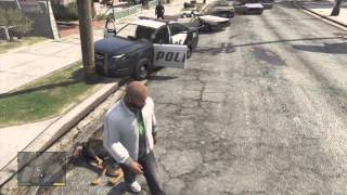 Cops Kill My Dog In GTA V