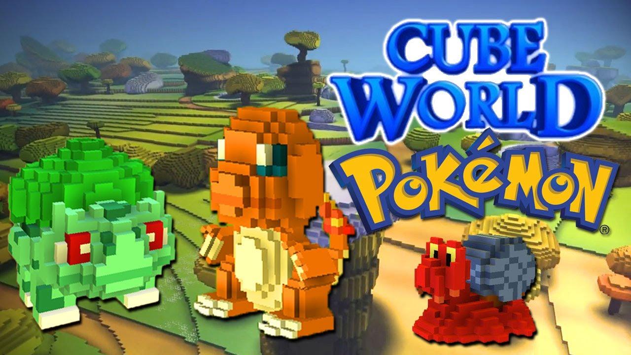 buat yang pada gemar main game baru mirip minicraft ini? yaitu CUBE WORLD !!! ini dia versi pokemonnya WoWx LUPA JANGAN :)