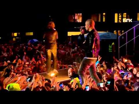 The Wanted - Walks Like Rihanna (Live on VG Lista)
