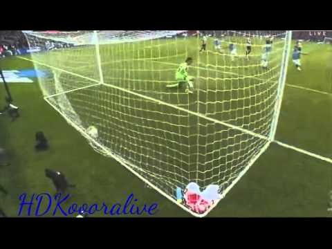 Man City vs Sunderland 2-1 || Samir Nasri Goal || 02/03/2013 || Final FA cup 13-14