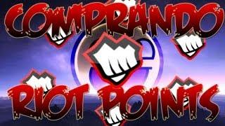 Tutorial / Comprar RIOT POINTS Facilmente \ League Of Legends