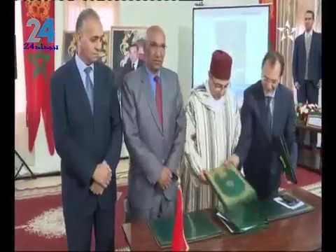 رئيس بلدية تنجداد يوقع اتفاقية شراكة مع وزير الثقافة بالريصاني