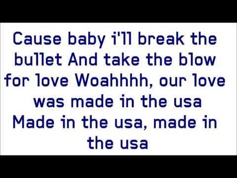 Demi Lovato - Made In The USA (Lyrics On Screen)