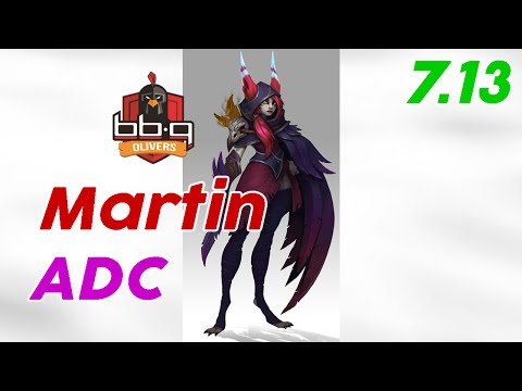 Snake eSports Martin Xayah ADC Patch 7.13