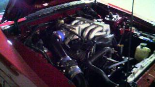 1989 Ford Mustang 4cyl Conversion Comes To Life With V8