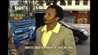 Kayete vai �s ruas avaliar modelitos de frio nas ruas da capital