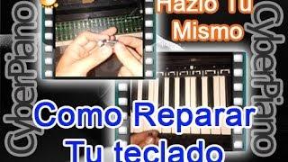 Reparar Teclado Electrónico