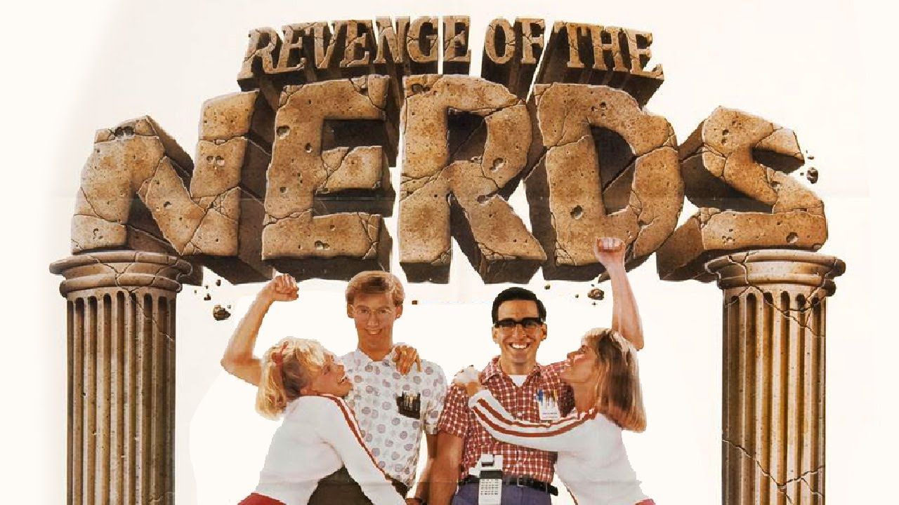 review of the film revenge of the nerds The plot for this film isn't to dissimilar from its predecessor the nerds have to rise to the challenges put in front of them by the jocks and the cool kids the alpha betas return to be the villains but this is a new group where ogre is the only returning member from the previous movie.
