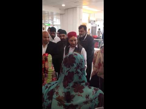 Haq badshah sarkar at Heathrow 2014