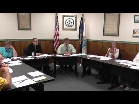 Champlain Village Board Meeting 10-7-13