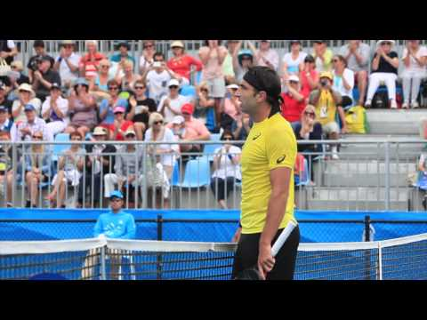 Match point: Marinko Matosevic books quarterfinal berth