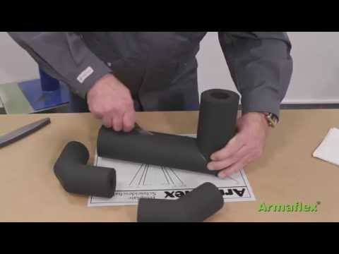Armacell - Armaflex Tube Bend 90, 45, segment bend 90 Application Video
