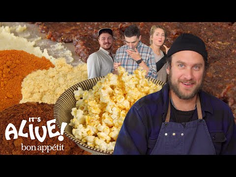Brad Makes Fermented Popcorn Seasoning | It's Alive | Bon Appétit