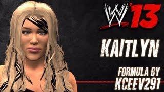 WWE '13 Kaitlyn CAW Formula By KCeeV291
