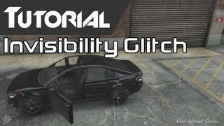 GTA V Online: Invisible Player Glitch (Tutorial) How To
