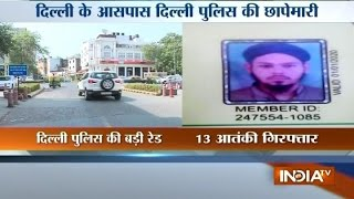 Delhi Police Special Cell detains 13 Suspected JeM Terrorists