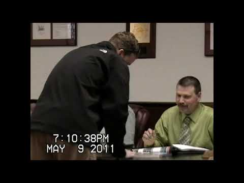 Chazy Town Board Meeting 5-9-11