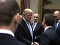 Donald Trump Meets with Business Leaders