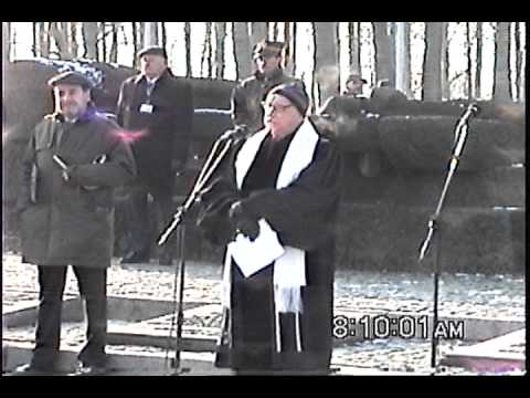 Cantor Wisnia returns to Auschwitz