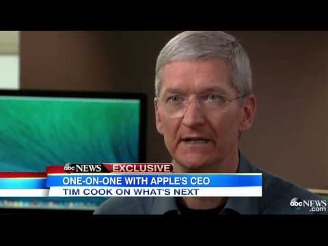 Mac CEO Tim Cook Interview 2014 Apple Computers Celebrates 30th Anniversary