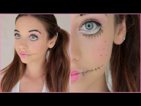 Creepy Doll Halloween Makeup Tutorial!