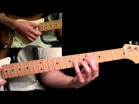 Eric Johnson - Manhattan Guitar Lesson Pt.1 - First A Section