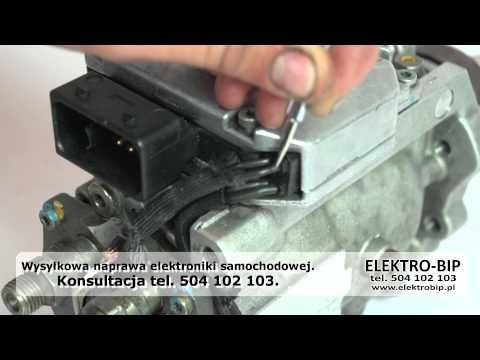 Jak sprawdzić STEROWNIK POMPY vp44 BOSCH Opel 2.0 2.2 DTL DTI Astra Zafira Vectra B POMPA WTRYSKOWA