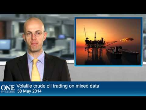 Volatile crude oil trading on mixed data