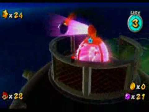 Super Mario Galaxy Boss: Megaleg