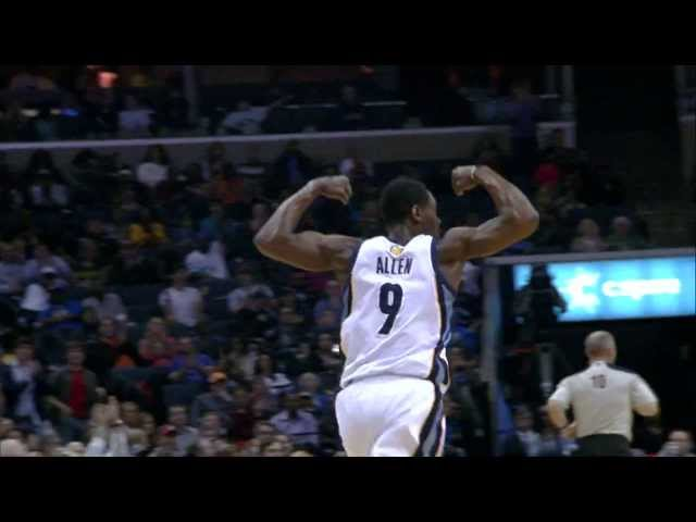 Tony Allen With the Emphatic Putback Slam!